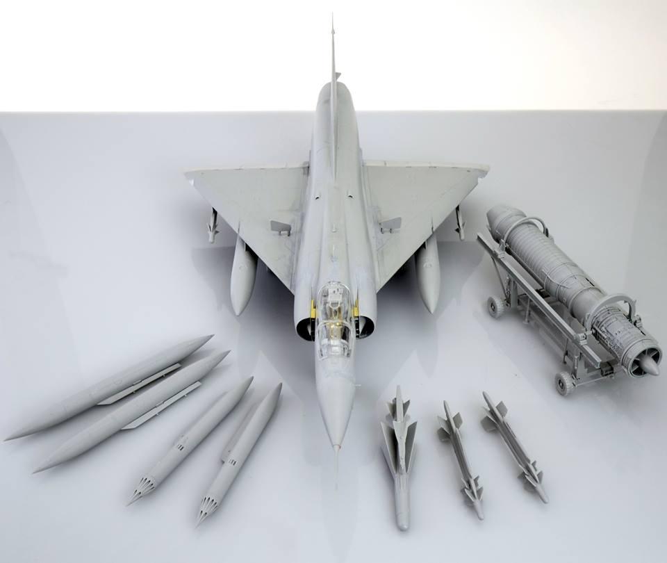 Maqueta Mirage III 2