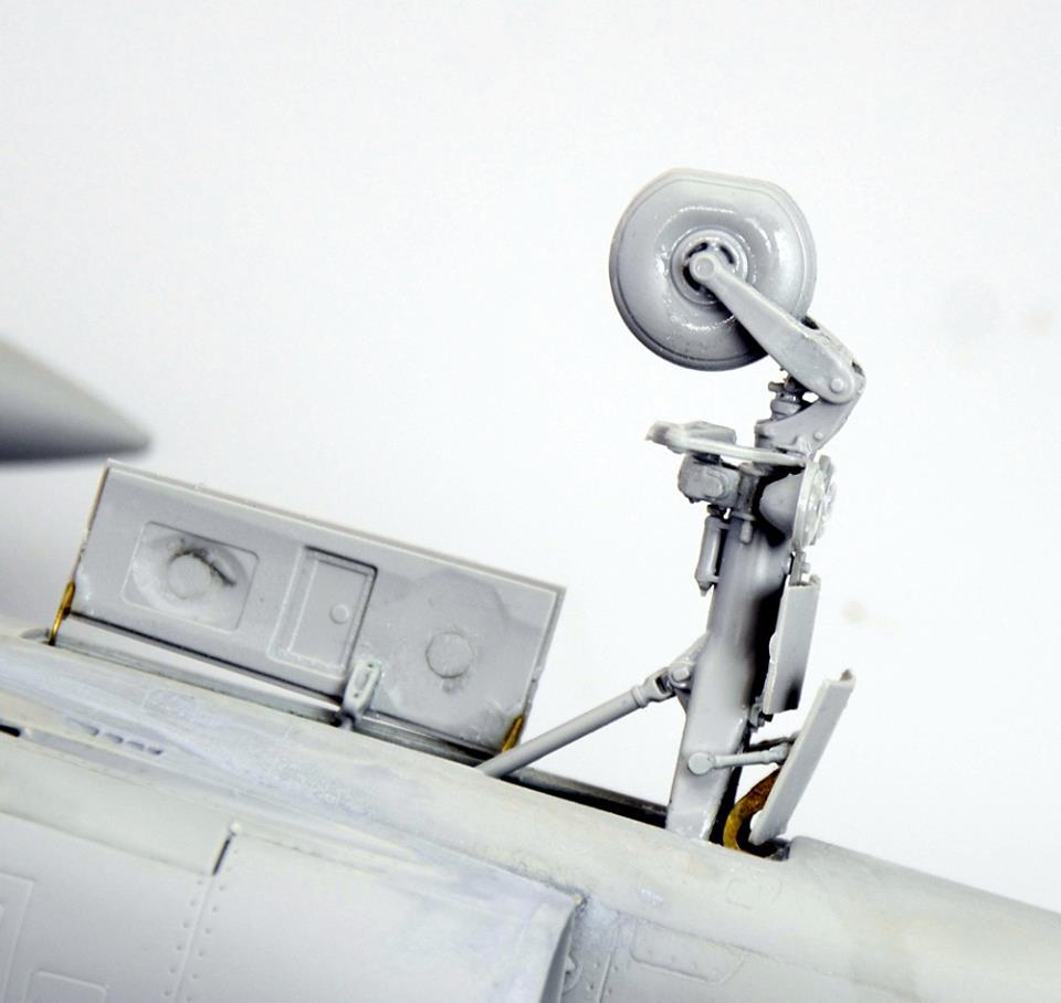 Maqueta Mirage III 3