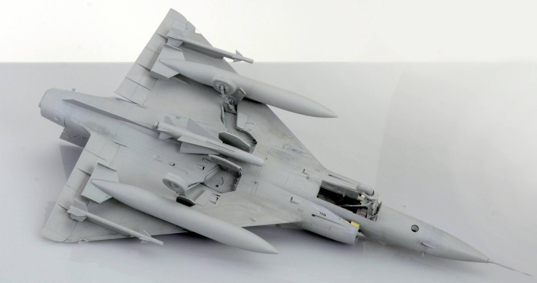 Maqueta Mirage III 4