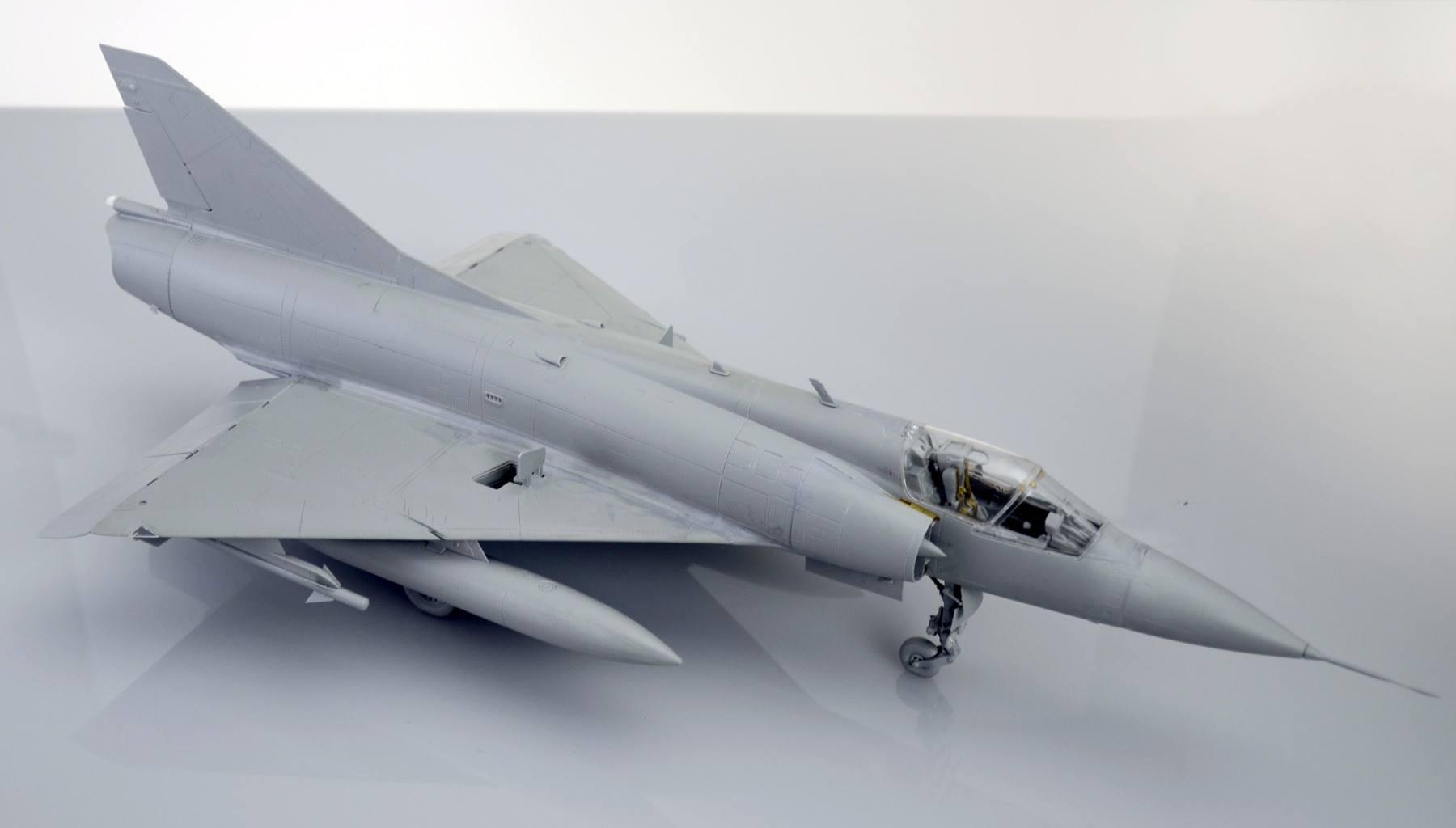 Maqueta Mirage III 5