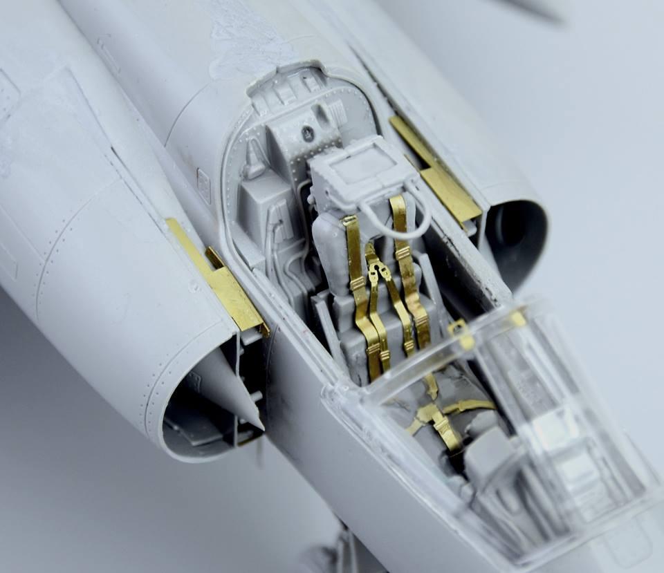 Maqueta Mirage III 6