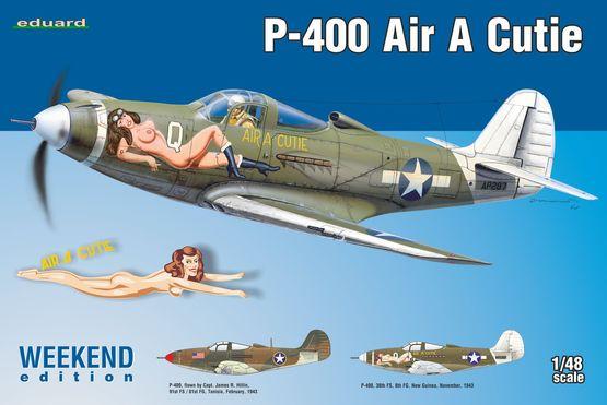 Maqueta P-400 de Eduard