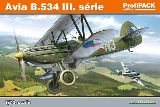 Maqueta Avia B-534 III de Eduard