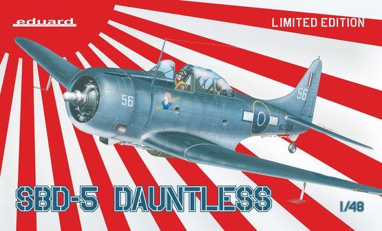 Maqueta SBD-5 Dauntless de Eduard
