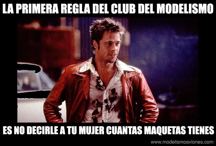 Primera regla del club del modelismo