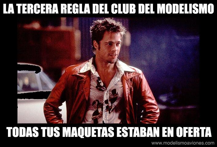 Tercera regla del Club del Modelismo