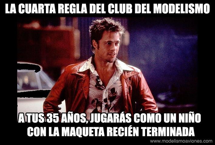 Cuarta regla del Club del Modelismo