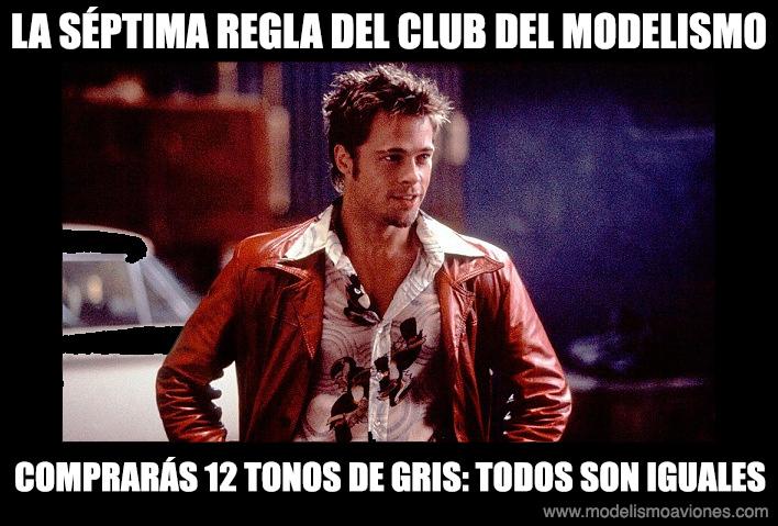 Séptima regla del Club del Modelismo