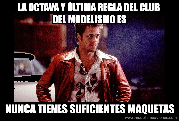 Octava regla del Club del Modelismo
