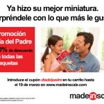Rebajas del Día del Padre en MadeInScale