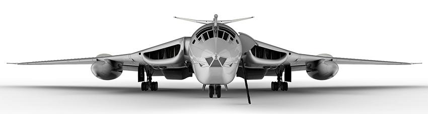 Maqueta Handley Page Victor de Airfix