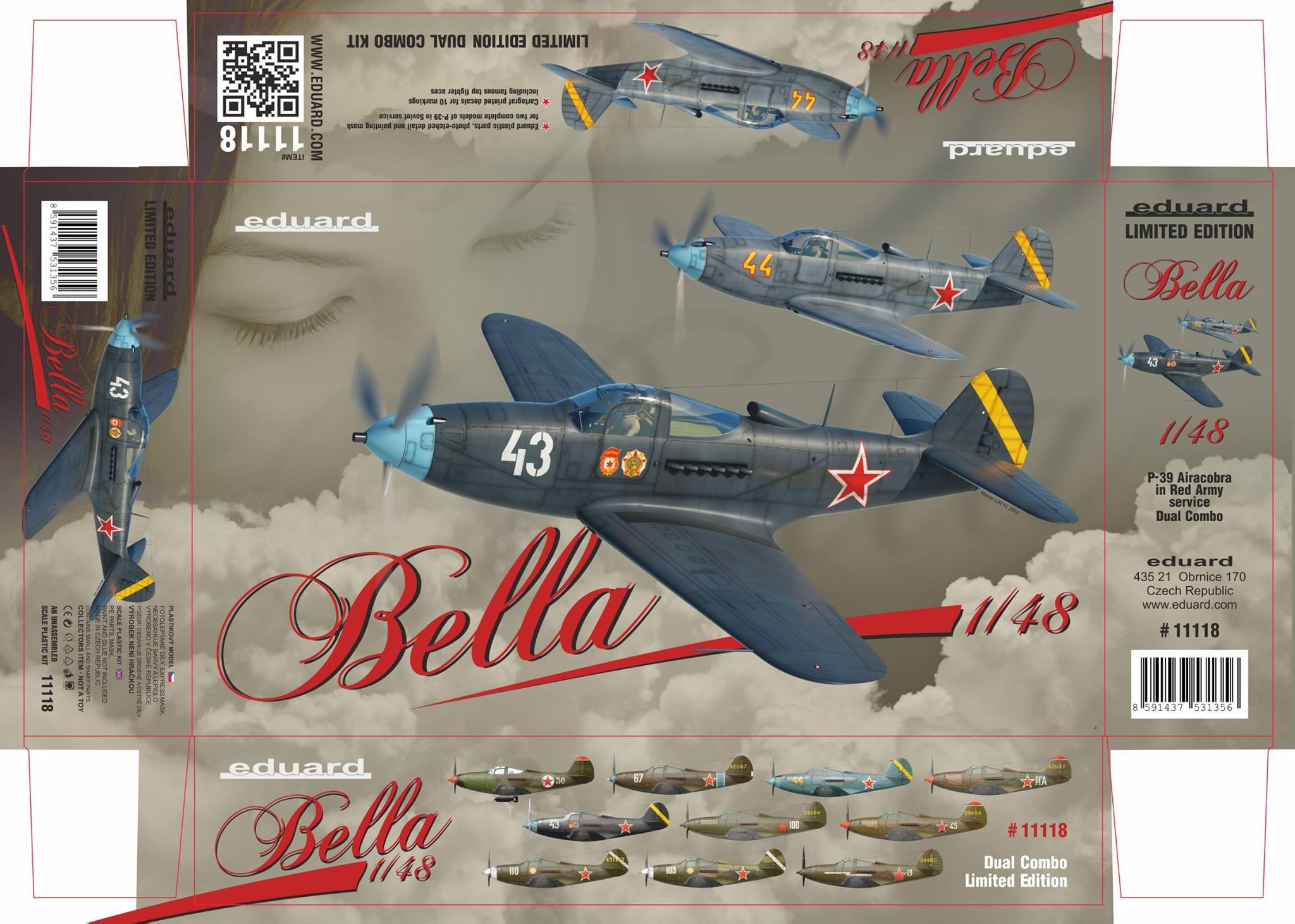 Boxart P-39 Airacobra Bella