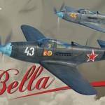 Boxart del P-39 Airacobra «Bella» de Eduard